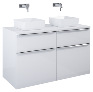Szafka podumywalkowa Elita LOFTY 120 4S WHITE HG PDW 167028