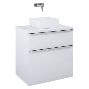 Szafka podumywalkowa Elita LOFTY 70 2S WHITE HG PDW 167026