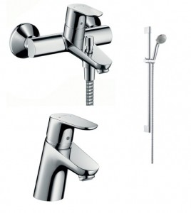 Zestaw wannowy Hansgrohe FOCUS E2 - 3194000 + 31730000 + 27763000 - 9493