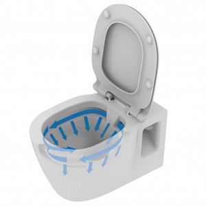 Miska WC wisząca RimLess Ideal Standard Connect E817401